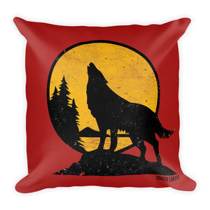 Howling Wolf Premium Pillow - kili-creations