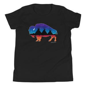 Buffalo Night Youth Short Sleeve T-Shirt