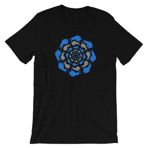 The Great Circle Short-Sleeve Men's T-Shirt (Black Heather)