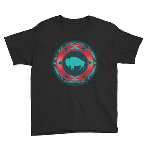 Native Buffalo Youth Short Sleeve T-Shirt