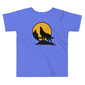 Howling Wolf Toddler Short Sleeve Tee