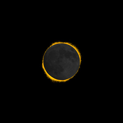 Commemorative Greg Lawson Solar Eclipse Image