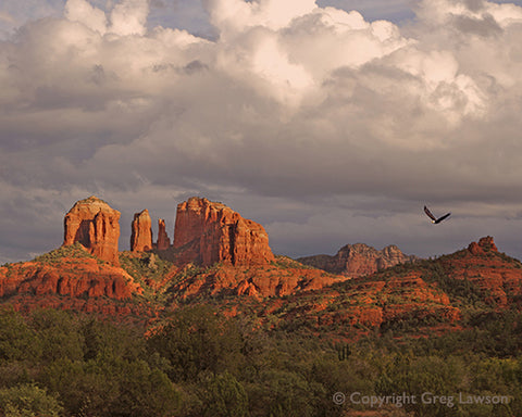On The Wing at Cathedral Rock