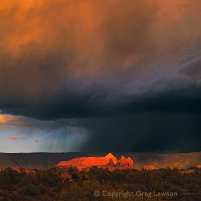 Handful of Light - Greg Lawson Photography Art Galleries in Sedona