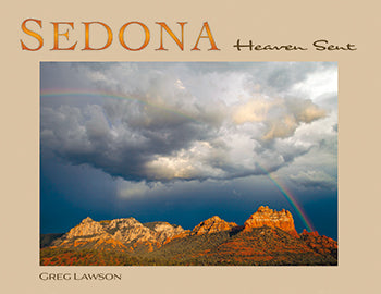 Sedona Hardcover Book, Sedona Heaven Sent, Greg Lawson Photography Art Galleries in Sedona, Arizona