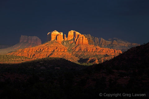 Cathedral Spectacle - Greg Lawson Photography Art Galleries in Sedona