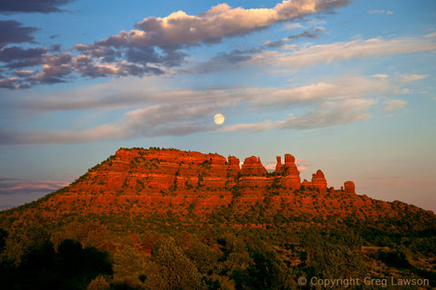 The Gibbous and The Cockscomb - Greg Lawson Photography Art Galleries in Sedona