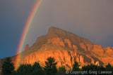 Rainbow at Elephant Butte, Chapel of the Holy Cross, Sedona - Sedona Book, Greg Lawson Photography Art Galleries in Sedona
