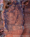 V-Bar-V Heritage Site petroglyphs, Sedona Book, Greg Lawson Photography Art Galleries in Sedona