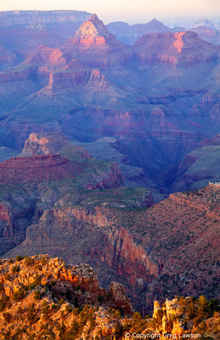 Grand Canyon Values - Greg Lawson Photography Art Galleries in Sedona
