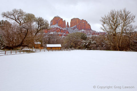 Winter's Cadence - Greg Lawson Photography Art Galleries in Sedona