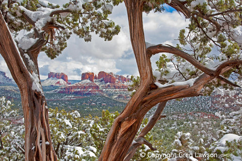 Cathedral Frame - Greg Lawson Photography Art Galleries in Sedona