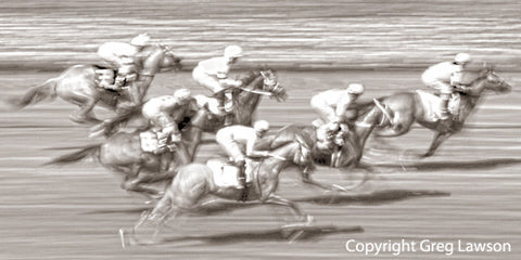 It's A Horse Race - Greg Lawson Photography Art Galleries in Sedona
