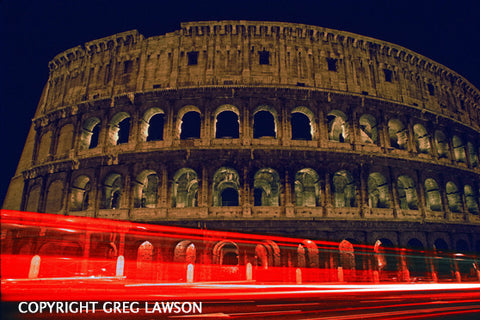 Roman Colosseum - Greg Lawson Photography Art Galleries in Sedona