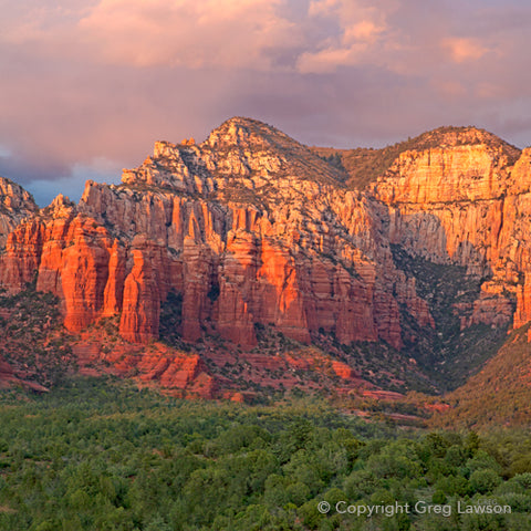 Sedona Rosé - Greg Lawson Photography Art Galleries in Sedona