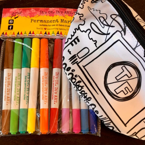 Color-Your-Own Fanny Pack with Fabric Markers