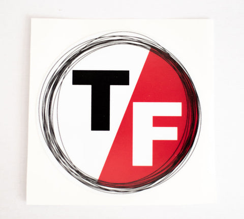 Large T/F Decal