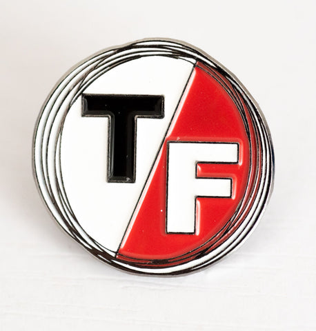 TF Enamel Pin