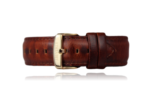 Chestnut Brown Leather Strap