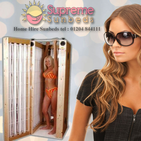 Su20 Pine Stand up 20 tube sunbed (home hire deposit only) £99 x 4 weeks