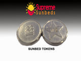 Sunbed Meter Tokens L2 /M2 1 bag of 25 tokens - supremesunbeds  - 3