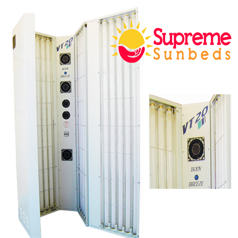 Stand up Vt20 Sunbed With Body Breeze (Home Hire deposit ) total £100  x 5 weeks