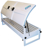 Double Elite Sunbed Canopy 18 Tube  and 4 facials With side Fans 160-200 canopy - supremesunbeds  - 3