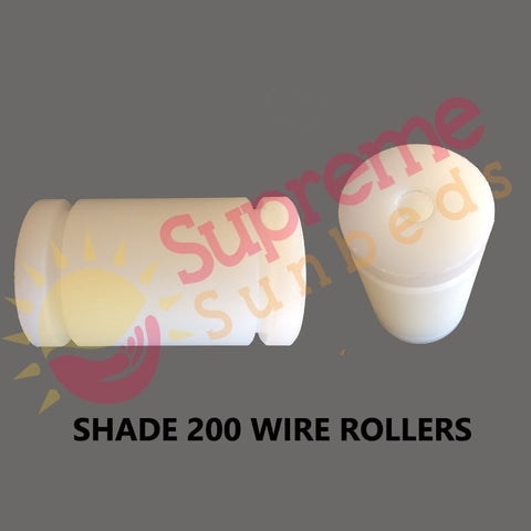Roller bobbin for Shade 200 canopy sunbed wires