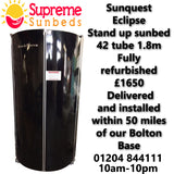 Sunquest Eclipse 42 tube stand up sunbed fully refurbished