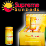 Sunbed Tan Shots, Shot drinks When Tanning Original with CoQ10 Box 24 - supremesunbeds  - 1