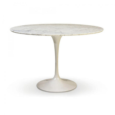 Lily Marble Round Table 35""