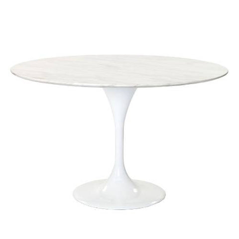 Lily Marble Round Table 43""