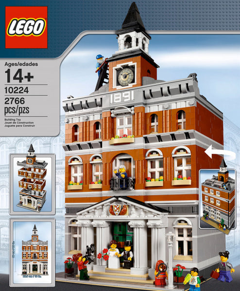 Lego Used 10224: Town Hall