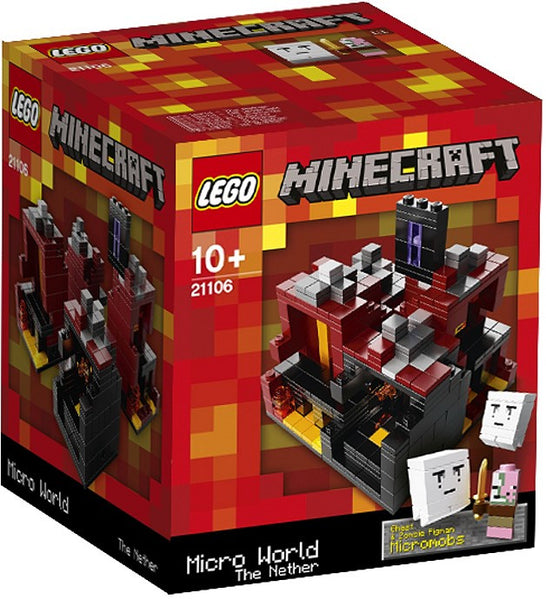 LEGO Minecraft Set #21106 Micro World: The Nether