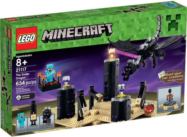 Lego New 21117: The Ender Dragon Minecraft