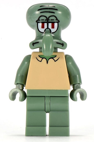 Lego Squidward - Modified Head 3834