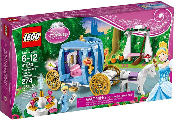 LEGO Disney Princess Set #41053 Cinderellas Dream Carriage