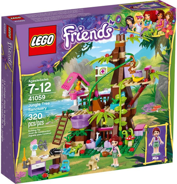 Lego New 41059-1: Jungle Tree Sanctuary Friends
