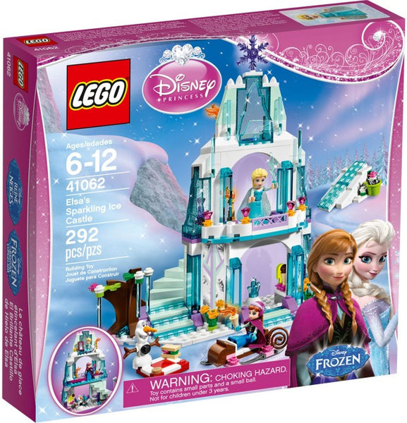 Lego Disney Princess Set #41062: Elsa's Sparkling Ice Castle
