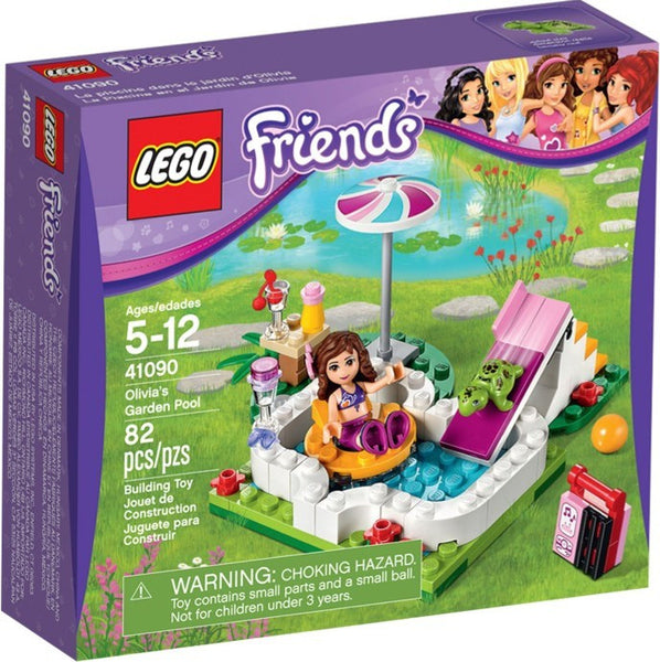 Lego New 41090-1: Olivia's Garden Pool