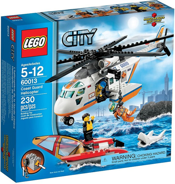 LEGO City Set #60013 Coast Guard Helicopter