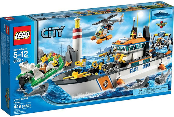 LEGO City Set #60014 Coast Guard Patrol