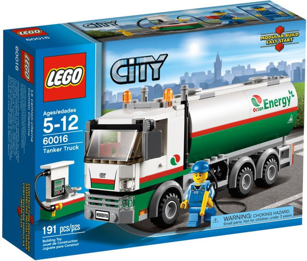 LEGO City Set #60016 Tanker Truck