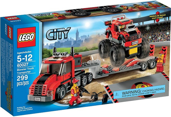 LEGO City Set #60027 Monster Truck Transporter