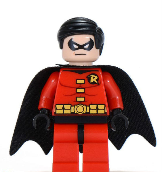 Lego Used Robin - Black Cape Minifigure  6857 6860 30166