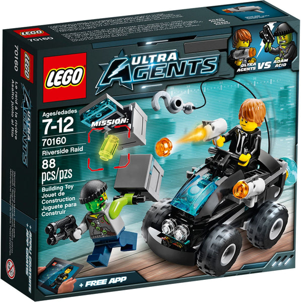 Lego Ultra Agents 70160: Riverside Raid