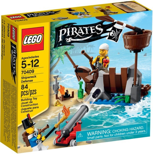 Lego Pirate 70409: Shipwreck Defence