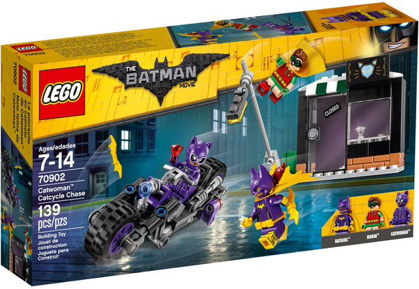 Lego Batman Movie 70902: Catwoman Catcycle Chase
