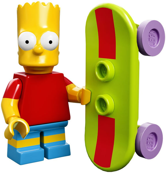 Lego Series 1 Simpsons 71005:  Bart Simpson minifigure
