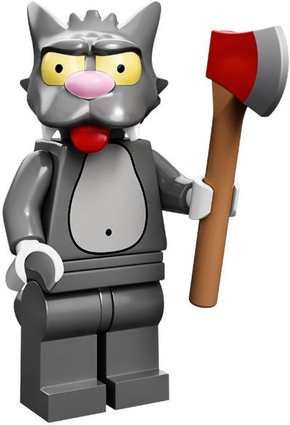 Lego Series 1 Simpsons 71005: Scratchy minifigure